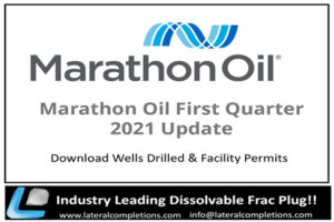 Marathon Oil Company First Quarter 2021 Update