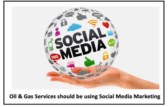 Social marketing oil gas