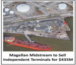 Magellan Midstream Divests its Independent Terminals for $435M