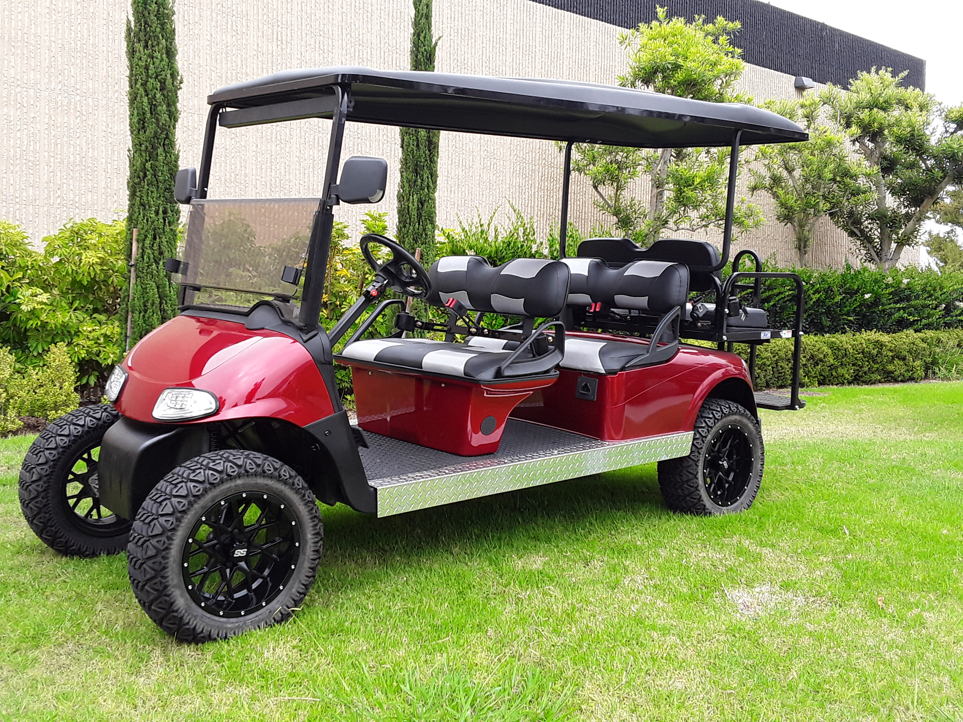 6 Passenger Lifted Golf Cart