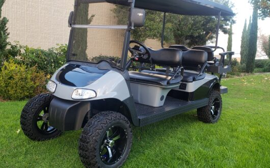 6 Passenger Custom Painted Ezgo Rxv Golf Cart