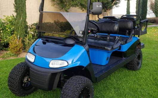 Six Passenger RXV Golf Cart