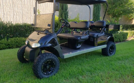 Ezgo Electric Rxv 4 Passenger Golf Cart with Cargo Box