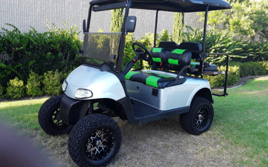 Ezgo Electric Rxv Lifted 4 Passenger Golf Cart
