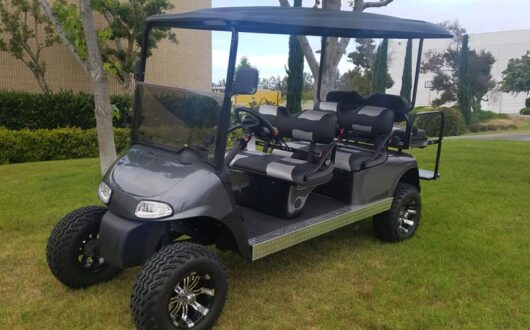 Ezgo Electric Rxv Stretched Limo 6 Passenger Golf Cart, #C29
