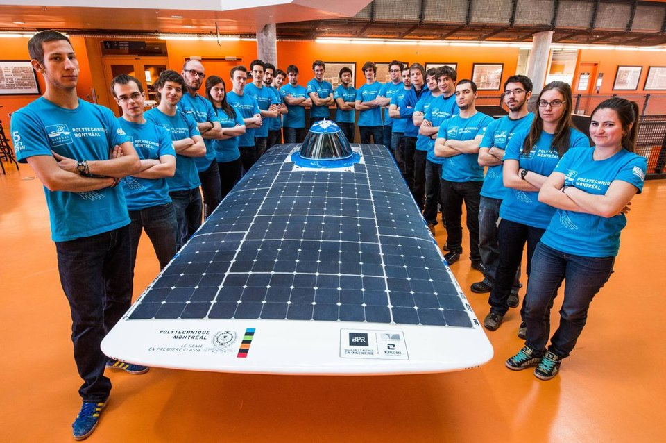 Montreal Solar Car Aims For Racing Gold