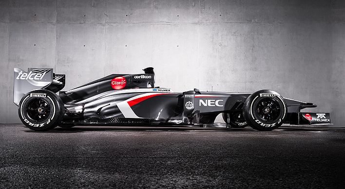 NEC Sponsored Formula One Racing Car - NEC And Formula One: Revving It Up To Thrill