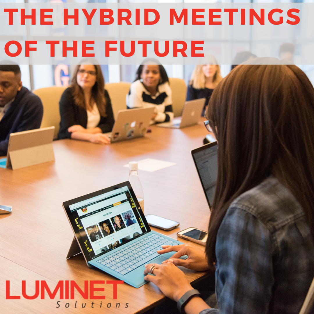 Group Of Business People At A Conerence Table All With Laptops In The Future Meeting Room