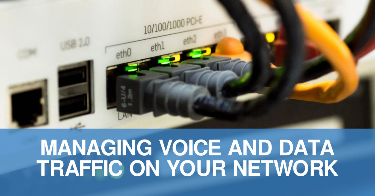 Managing Voice And Data Traffic