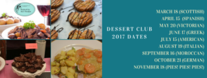 Dessert Club 2017