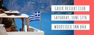 Greek Dessert Club