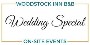Weddings at Woodstock Inn B&B