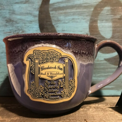 Woodstock Latte Mugs | Woodstock Inn B&B
