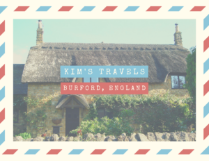 Kim's travels, Burford England | Woodstock Inn B&B