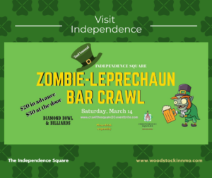 zombie leprechaun bar crawl | Woodstock Inn B&B