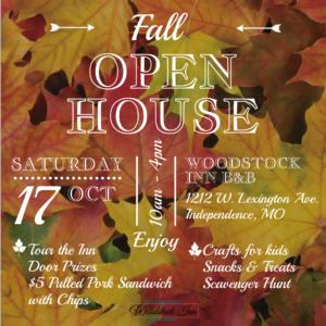 Fall Open House | Woodstock Inn B&B