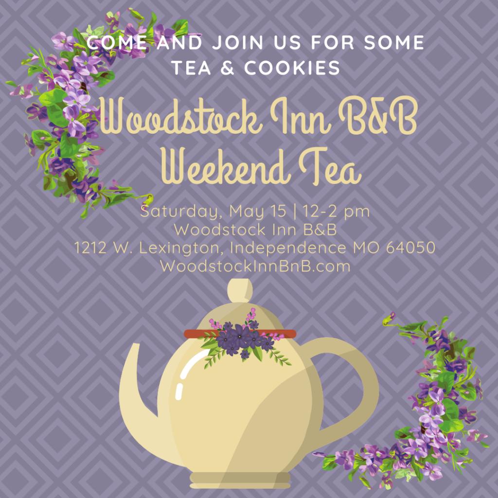 Weekend Tea | Woodstock Inn B&B