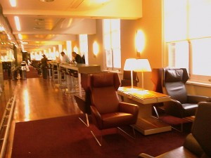 Eurostar lounge St Pancras