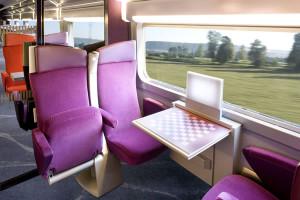 TGV Lyria, 2da clase