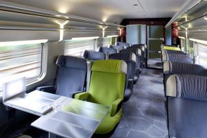TGV Lyria, 1ra clase