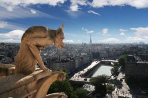 Cupula Basilica de Notre Dame, Paris