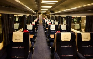 Night Riviera, asientos reclinables