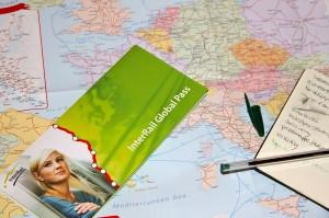 Cubierta de un InterRail Global Pass