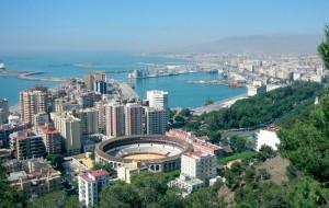 Vista panoramica de Malaga