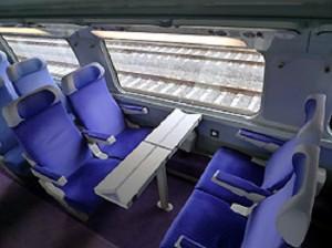 TGV Paris-Barcelona, 2da Clase