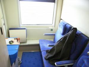 Jan Kiepura, compartimento camas cerradas