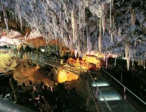 Interior de la Cueva del Soplao