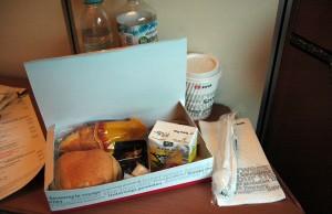 CNL, desayuno para compartimentos-cama