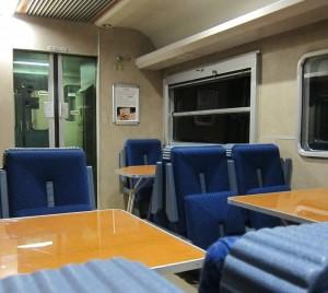 Vagón restaurante, Thello nocturno