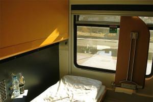 City Night Line, compartimento 2 camas Deluxe