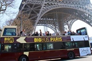 Paris Big Bus Tour