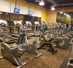 Anytime Fitness cardio