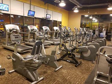 Anytime Fitness cardio