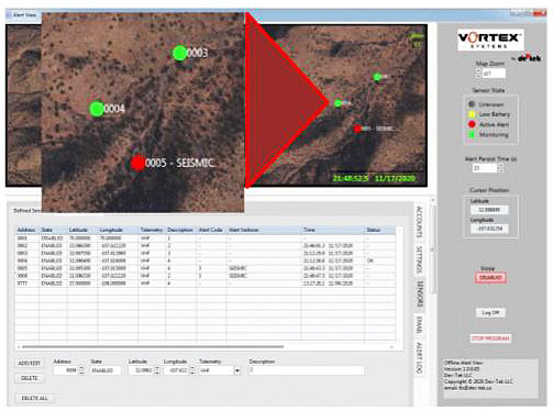 Alert View mapping software