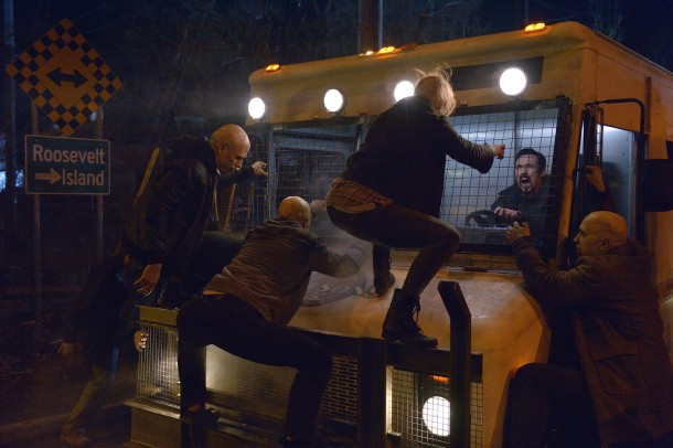 """THE STRAIN -- """"Night Train"""" -- Episode 213 (Airs October 4, 10:00 pm e/p) Pictured: Kevin Durand as Vasiliy Fet. CR: Michael Gibson/FX"""