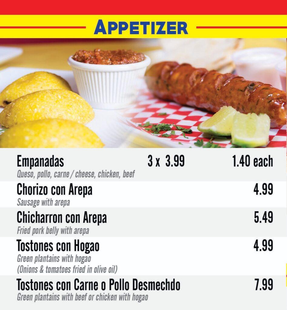 Specialties apetizers