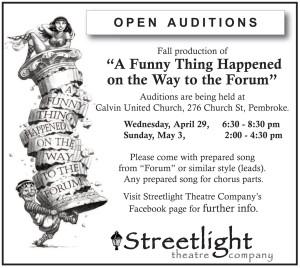 Streetlight Theatre - Audition Forum 15.4