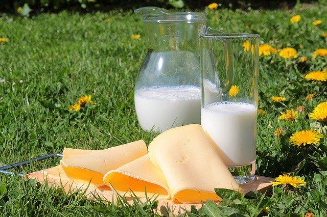 Milk, cheese