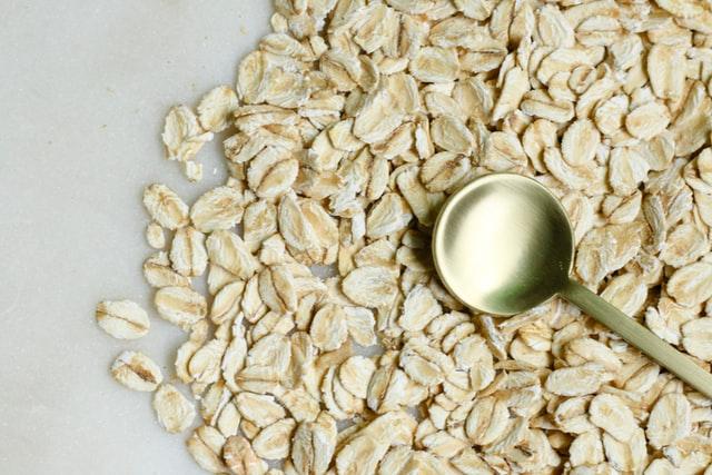 Oatmeal rich in vitamin D