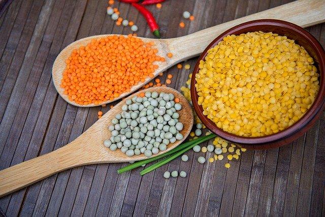 lentils, pulses, vegan diet, protein