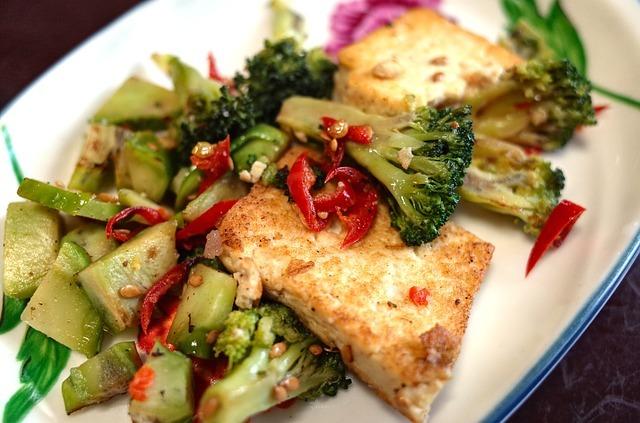 Tofu, vegan diet, protein