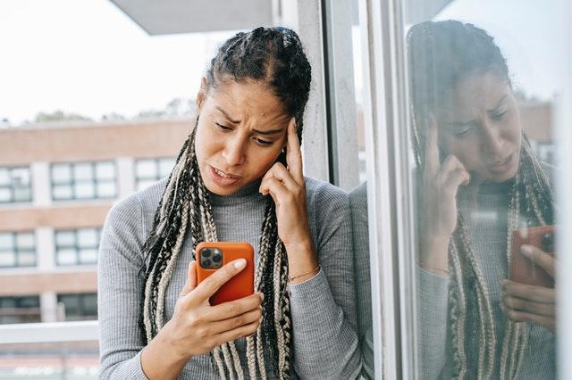 anxiety on using social media