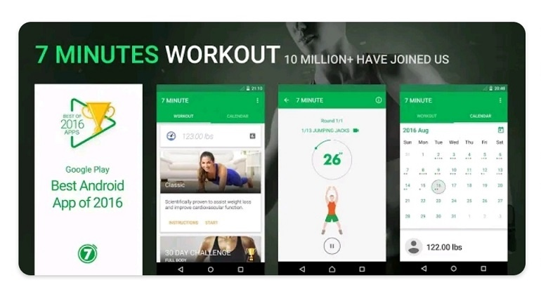 best free workout apps