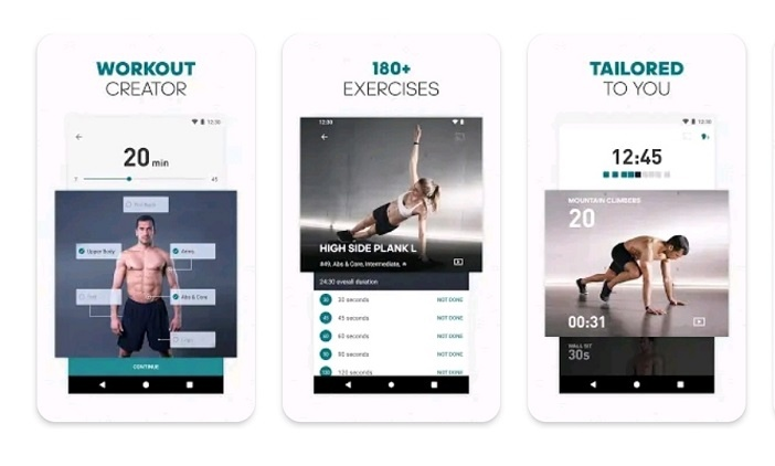 best workout apps for home