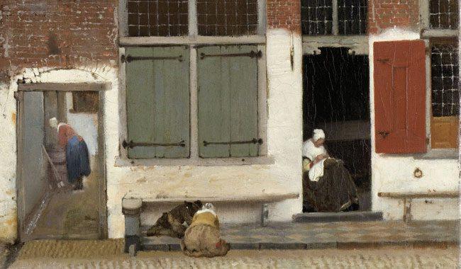 Vermeer-Little-Street-detail