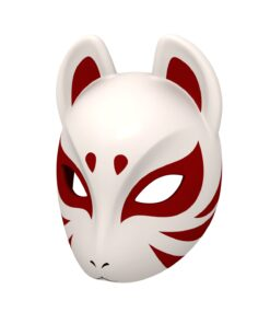 Japanese Fox Mask 3d model
